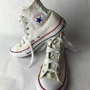 High Top Converse• Size W 8/M 6